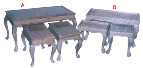 Charmant The Furnitures Made Out Of Walnut Tree.