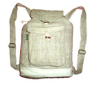 Hemp bags, hemp backpack, hemp handbag