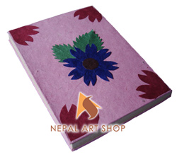 lokta paper note book, Nepal handmade paper notebook, Nepal paper products